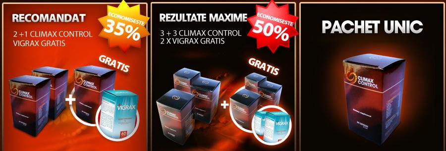 Climax control pachete si preturi