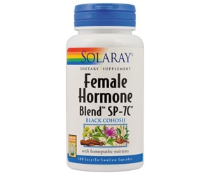 female hormone blend solaray secom