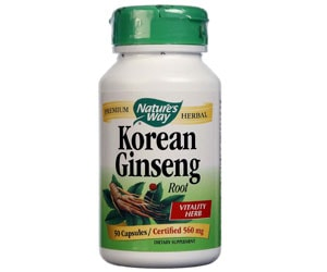 Korean Ginseng Nature's Way
