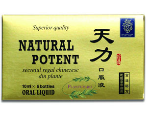 Natural Potent - supliment natural