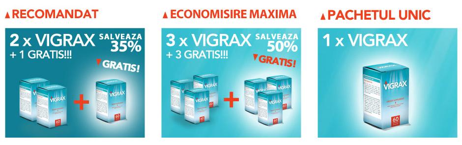 Vigrax pentru cresterea potentei - preturi si pachete recomandate