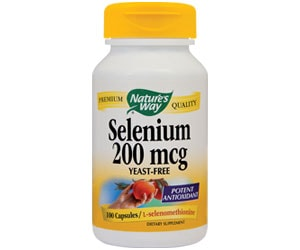 Selenium Nature's Way Secom