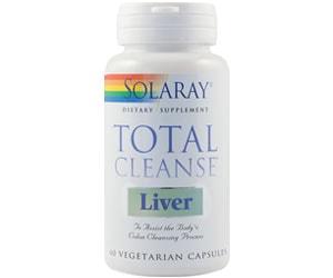 Total cleanse liver - Solaray - Secom - detoxifierea ficatului